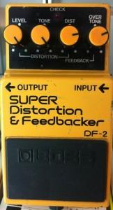 boss エフェクター スーパーディストーション&フィードバッカー DF-2