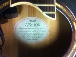 yamaha apx-10s 買取ギター
