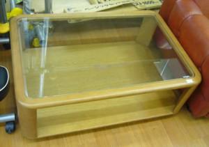 karimoku ガラステーブル