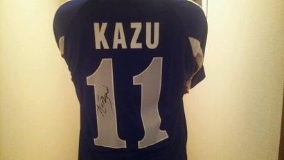 KAZU 成田サイン