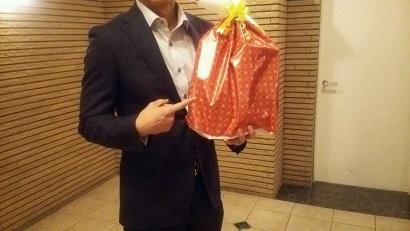 スーツ プレゼント